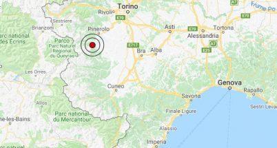 Terremoto oggi, scossa in provincia di Torino