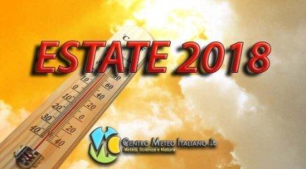 Tendenza meteo estate 2018