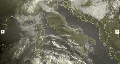 METEO LIVE oggi 27 aprile: locali piogge sull'Italia - sat24.com