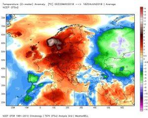 Risultati immagini per foto temperature alte