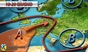 Anticiclone delle Azzorre nei prossimi giorni, attenzione tuttavia ai temporali pomeridiani