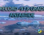 Record di freddo in Antartide