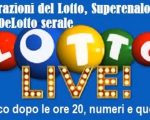 Lotto Superenalotto 10eLotto serale