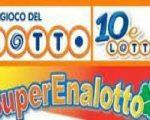 Lotto Superenalotto 10eLotto serale 7 luglio 2018
