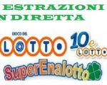 Estrazione Lotto 17 luglio 2018, Superenalotto, 10eLotto