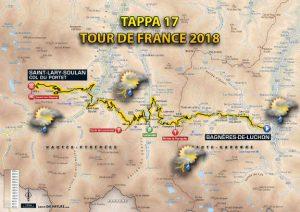 Tour de France 2018, previsioni meteo 17^ tappa
