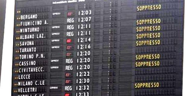 Calendario Scioperi Trasporti.Sciopero Trasporti Calendario Stop Aerei E Treni Agosto