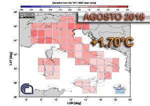 Clima agosto 2018 temperature sopra media - isac.cnr.it