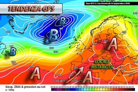 Tendenza meteo prossima settimana - meteociel.fr