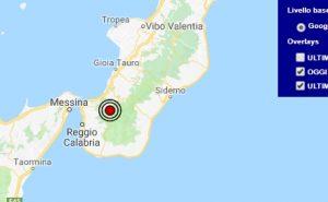 Terremoto oggi Calabria 14 settembre 2018, scossa M 2.4 provincia di Reggio Calabria - Dati Ingv