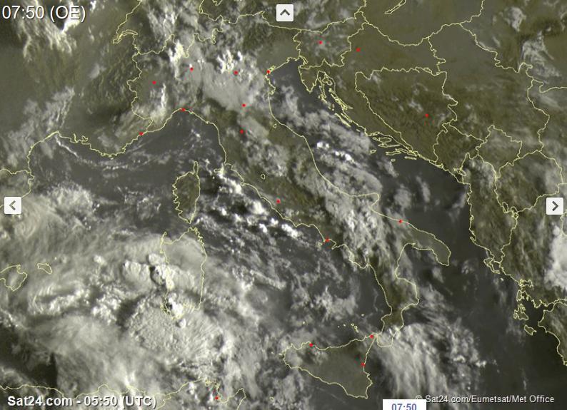 Meteo Milano, cielo nuvoloso e rischio temporali: ma poi ritorna il caldo