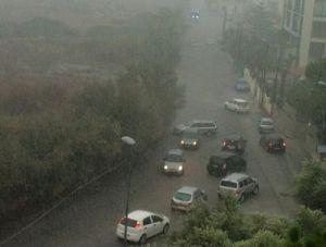 Violento nubifragio nel siracusano: piogge torrenziali e città sott'acqua. Oggi ancora forti piogge