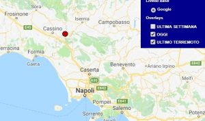Terremoto oggi Molise 11 ottobre 2018, scossa M 2.0 provincia di Isernia - Dati Ingv