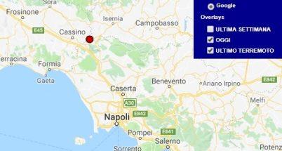 Terremoto molise oggi e ultimi 7 giorni centro meteo for Ingv lista terremoti di oggi