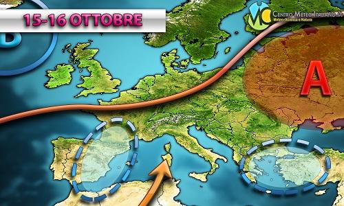 Tendenza meteo prossima settimana: ancora tempo instabile in Italia?