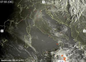 Tempo instabile al Sud, più sole altrove - sat24.com