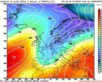 Peggioramento meteo tardo autunnale per fine mese con freddo e neve?