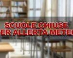Allerta maltempo, scuole chiuse in diverse regioni