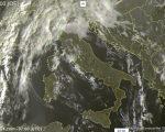 Condizioni meteo instabili al Nord-Ovest, più asciutto altrove - sat24.com