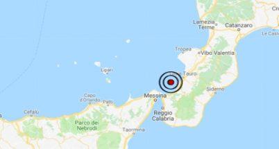 Terremoto oggi Calabria