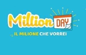 Million Day, estrazione lunedì 19 novembre 2018