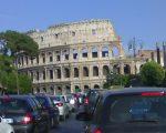 Roma blocco del traffico