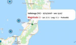 Terremoto oggi, le ultime scosse