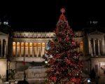 Accensione dell'albero di Natale in piazza Venezia a Roma, ma vediamo la tendenza meteo. Fonte: roma.repubblica.it