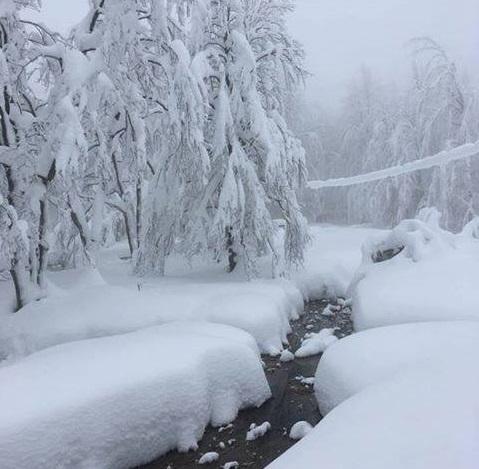 Meteo - clima freddo e NEVE in ITALIA fino a quote medio-basse. Foto Emanuele Baroncelli