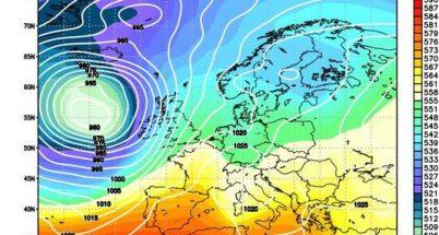 Serie si perturbazioni per la prossima settimana secondo i principali modelli meteo