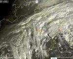 Condizioni meteo perturbate con piogge, temporali e neve - sat24.com
