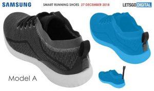 Samsung, scarpe intelligenti