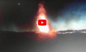 Stromboli, continua l'attività eruttiva