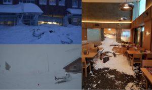 Valanga travolge hotel in Svizzera