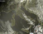 Tempo più stabile al Centro-Nord, residue piogge al Sud - sat24.com
