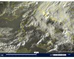 Tempo instabile con piogge sparse e neve sui rilievi - sat24.com