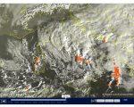 Tempo instabile con piogge e neve a bassa quota - sat24.com