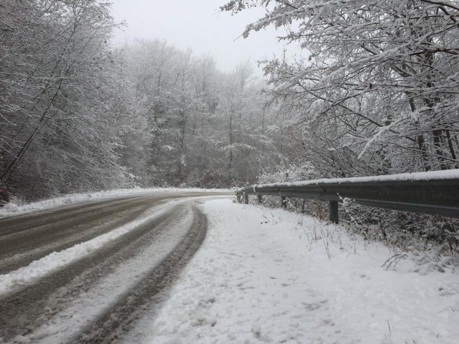 Gelo e neve in arrivo in Italia per i giorni della merla, foto RS23 da Carbonesca (Pg)