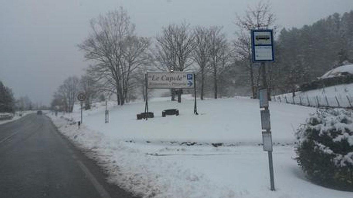 Neve in Toscana: ulteriore peggioramento in arrivo. Fonte: Ansa.it