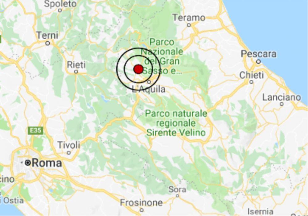 Terremoto oggi abruzzo 5 febbraio 2019 scossa m 3 4 for Oggi in romagna