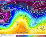 Rapido peggioramento del tempo a cavallo tra la prima e la seconda di febbraio - meteociel.fr