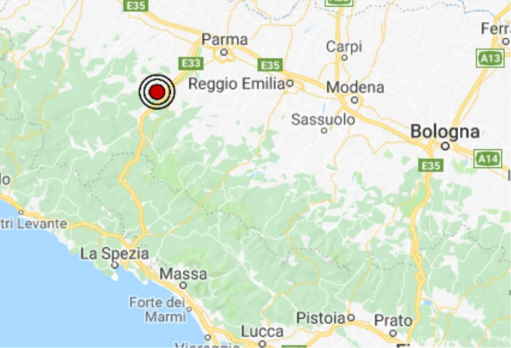 Terremoto oggi emilia romagna 7 febbraio 2019 scossa m 2 for Oggi in romagna