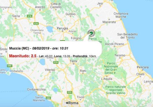 terremoto 8 febbraio 2019