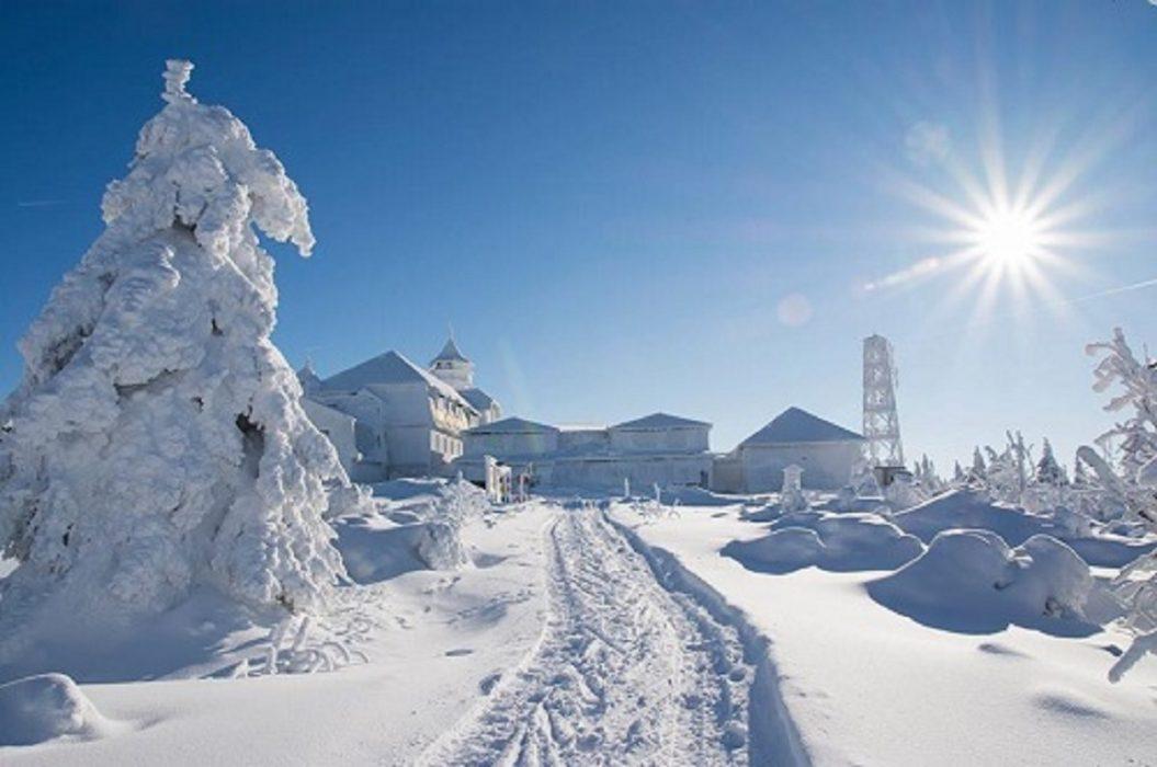 Freddo e neve in arrivo in Italia durante il prossimo weeekend. Foto Giancarlo Angione
