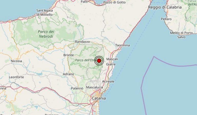 Terremoto in Sicilia oggi, sabato 8 maggio 2021: scossa M 3.1 in provincia Catania | Dati INGV