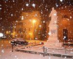 Neve e maltempo in arrivo in Italia