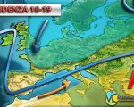 Tempo previsto in Italia per la prossima settimana