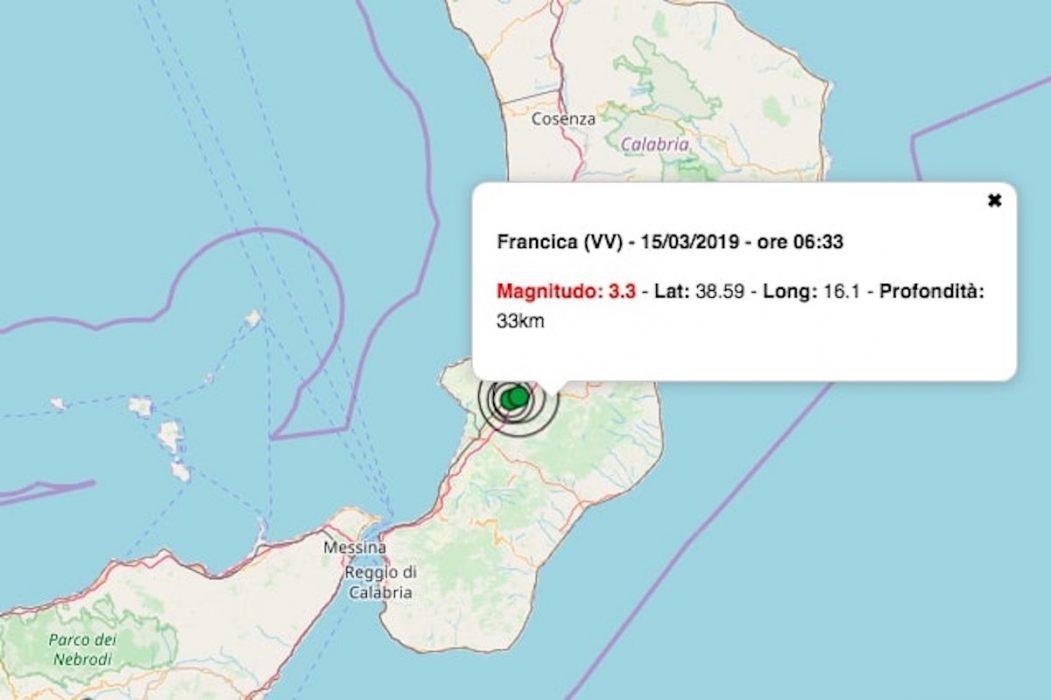 terremoto 15 marzo 2019