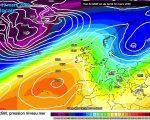 Modello meteo ECMWF di oggi 18 Marzo 2019 ore 00z. Fonte meteociel.fr