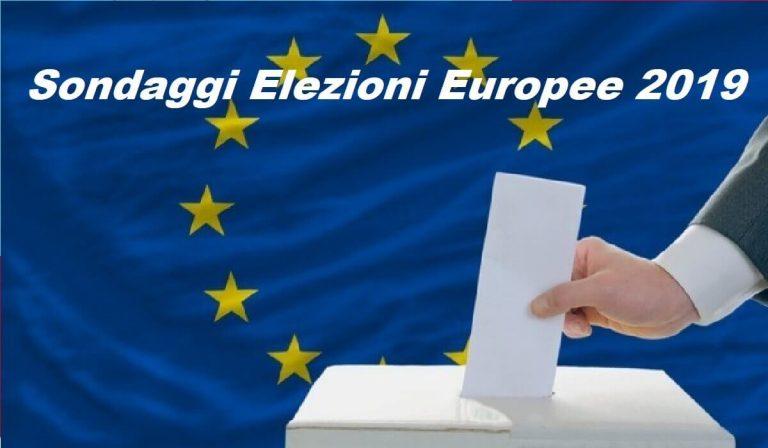 Sondaggi politici elettorali, le intenzioni di voto per le Elezioni Europee 2019